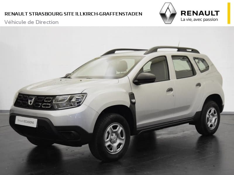 dacia duster essentiel tce 125 4x2 5 portes essence manuelle gris renault retail group. Black Bedroom Furniture Sets. Home Design Ideas