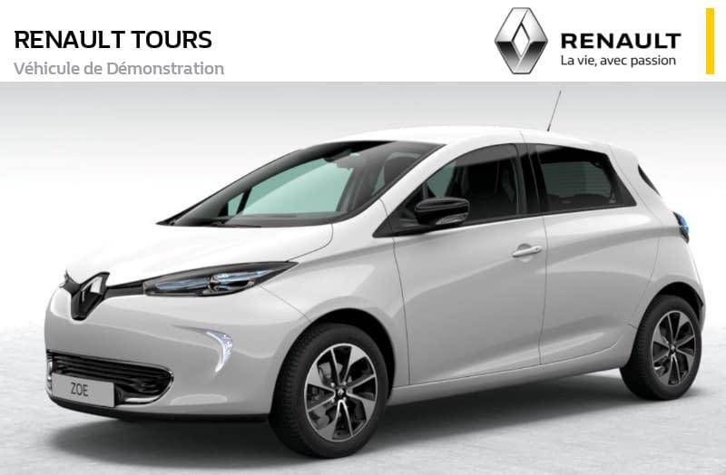 Image de RENAULT ZOE Intens R110 2019 5 portes Électrique Automatique Blanc