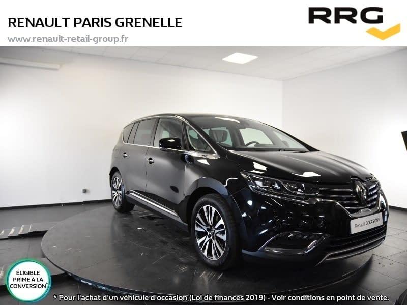 Image de RENAULT Espace dCi 160 Energy Initiale Paris EDC 5 portes Diesel Automatique Noir