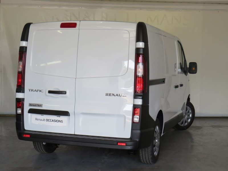 Image de RENAULT TRAFIC FGN L1H1 1200 KG DCI 125 ENERGY E6 GRAND CONFORT 4 portes Diesel Manuelle Blanc