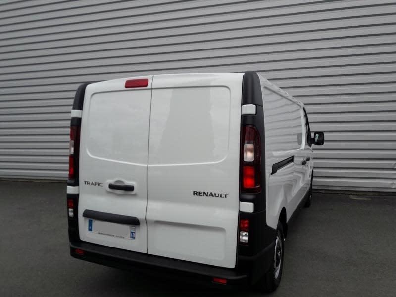 Image de RENAULT TRAFIC FGN L2H1 1200 KG DCI 120 E6 CONFORT 4 portes Diesel Manuelle Blanc