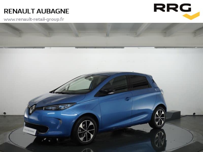 Image de RENAULT Zoe R110 MY 2018 Intens 5 portes Électrique Automatique Bleu