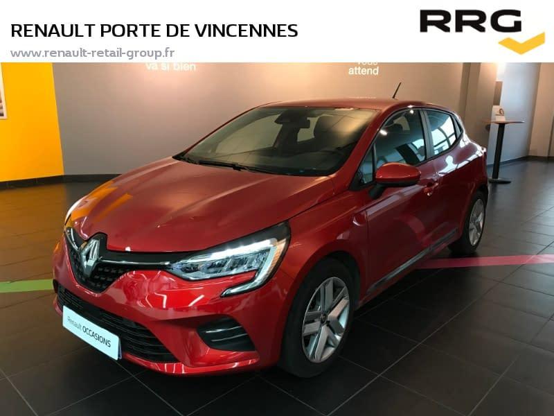 Image de RENAULT Clio TCe 100 Zen 5 portes Essence Manuelle Rouge