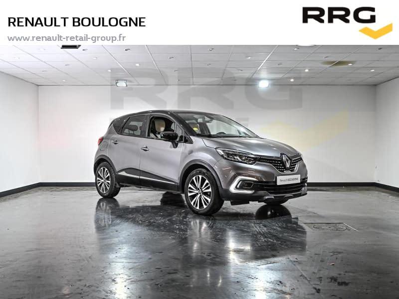 Image de RENAULT Captur dCi 110 Energy Initiale Paris 5 portes Diesel Manuelle Gris
