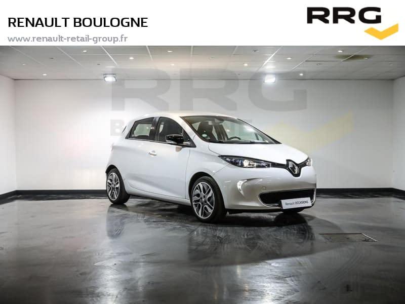 Image de RENAULT Zoe R110 MY 2018 Intens 5 portes Électrique Automatique Blanc