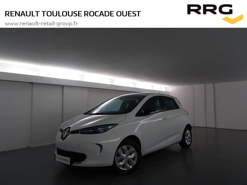 Image de RENAULT Zoe Life 5 portes Électrique Automatique Blanc