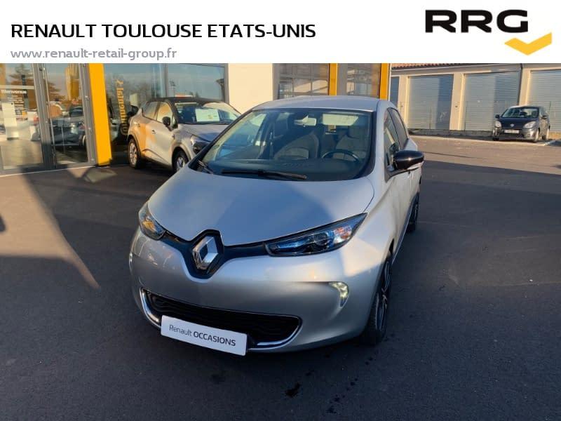 Image de RENAULT Zoe Q90 Intens 5 portes Électrique Automatique Gris