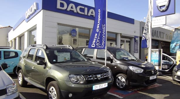 Photo de la concession DACIA BOX BORDEAUX MAYE