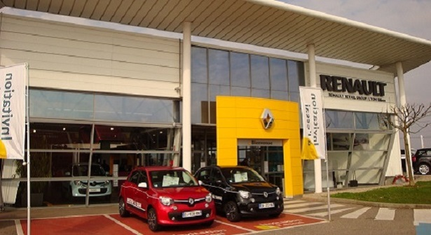 Lyon rillieux la pape renault retail group for Top garage rillieux la pape