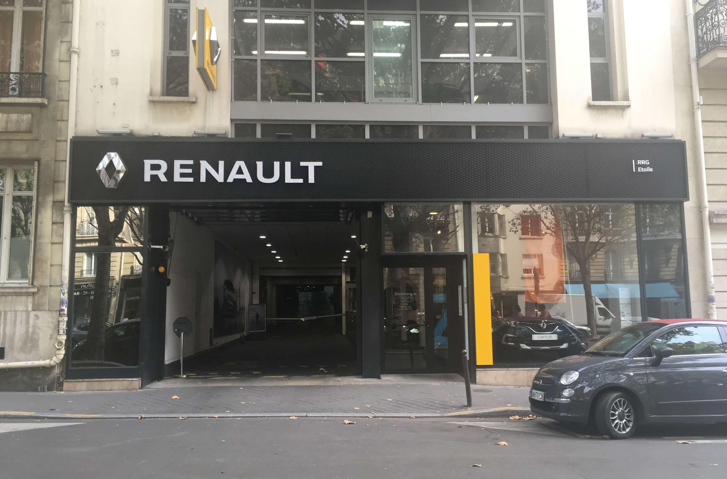 Paris etoile renault retail group - Garage renault occasion paris ...